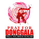 Logo Pray For Donggala Vector #2