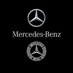Logo Mercedes Benz Vector, AI, EPS, CDR