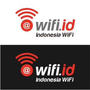 Logo Wifi id Vector, EPS, AI, CDR